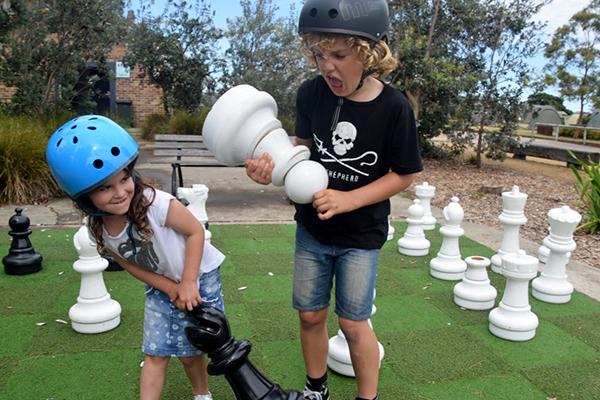 Death match chess at Cockatoo ISland