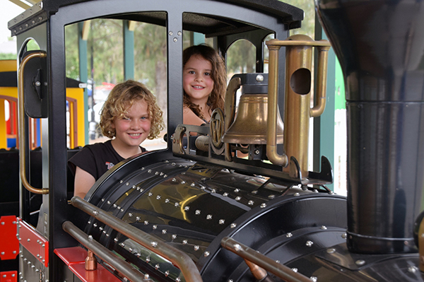 The Dragon's Express at Crowne Plaza Hunter Valley with kids