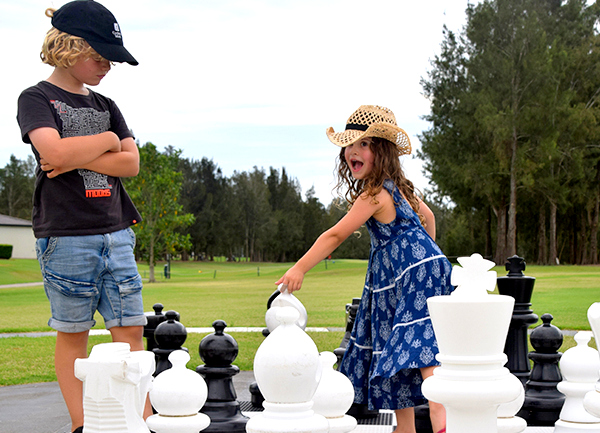 Game on: Crown Plaza Hunter Valley with kids