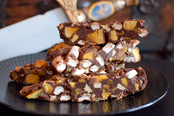 Trollhunters Orange Honeycomb Rocky Road