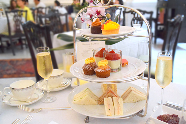 Afternoon Tea at Raffles Singapore