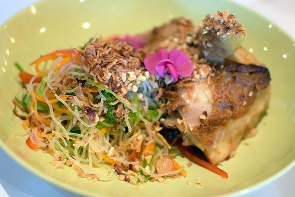 chicken glazed miso at Palette Dining Katoomba