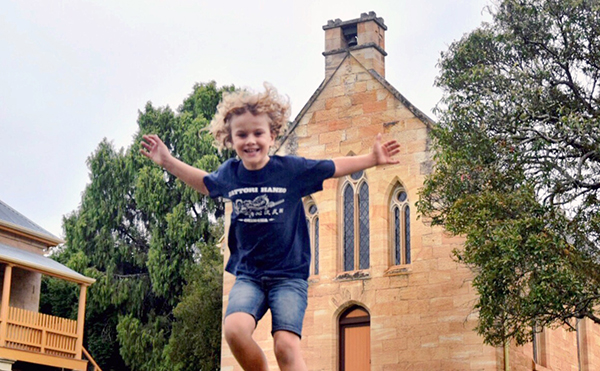 Hartley Historic Village with Kids: St Bernard's Catholic Church Historic Hartley Village