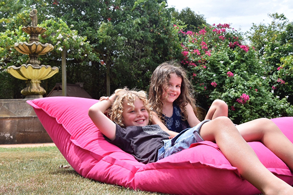 Chilling out at family friendly Gemelli Estate in the Hunter Valley