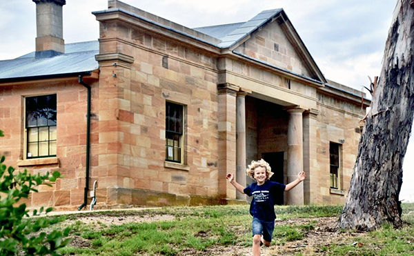 Hartley Historic Village with Kids: Historic Hartley Courthouse is said to be haunted by prisoners from the past