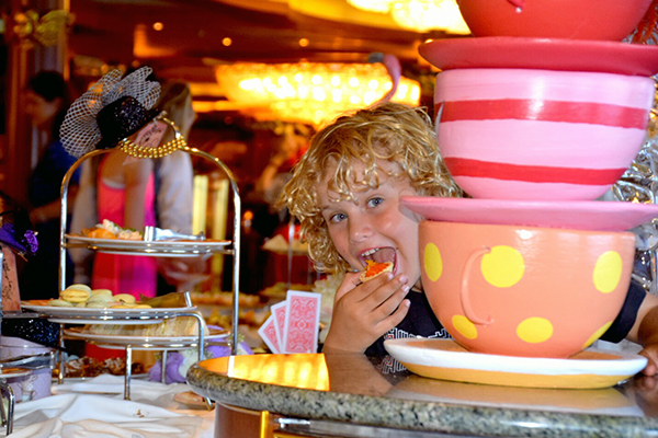 Mad hatters tea party: Carnival Spirit by Kids