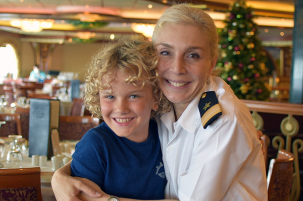 CArnival Spirit by Kids: Dessi, Senior Maitre D