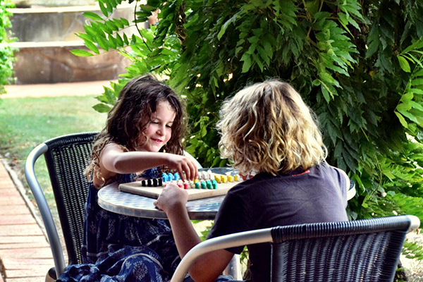 CHinese Checkers at Gemelli Estate Hunter Valley