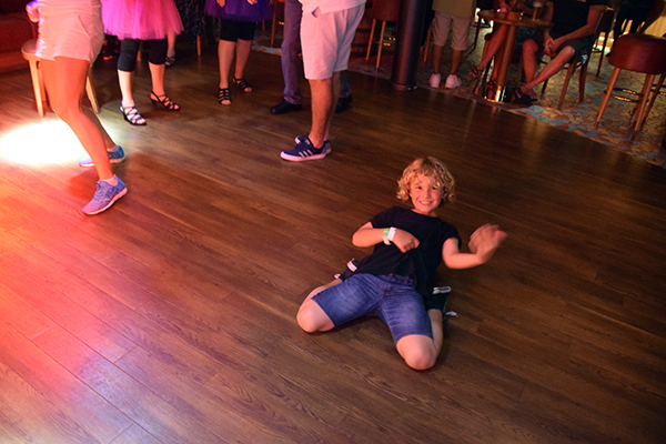 Rocking out at the Red Frog: Carnival Spirit with Kids