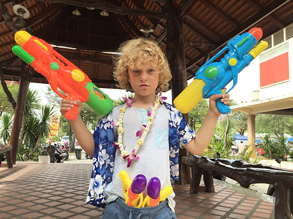 5 reasons Phuket is paradise for kids - Songkran