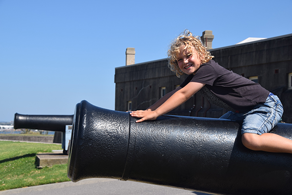 Turning back time at Fort Scratchley Newcastle