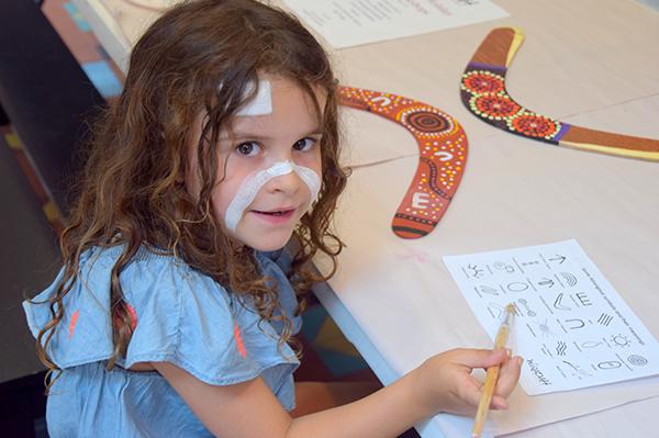 Waradah Aboriginal Centre's immersive school holiday program.