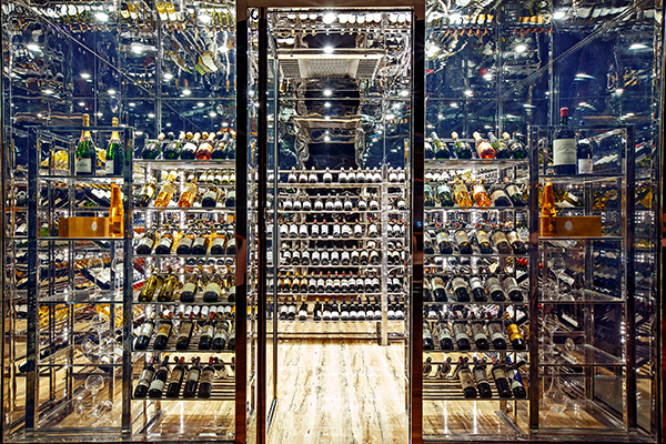 The Wine cellar at Le Cellier Novotel Yangon max (photo courtesy of AccorHotels)