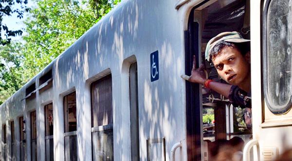 All aboard Yangon's Circular Train #Escapers17