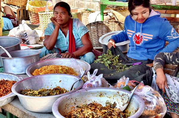 Street food Myanmar