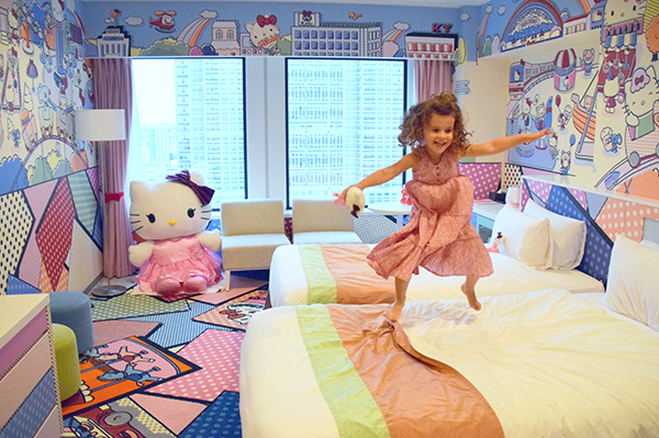 Japan by Kids: Keio Plaza Hotel Hello Kitty Town Room