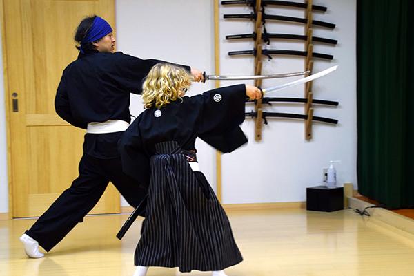Things to do in Japan with Kids: Samurai Kembu