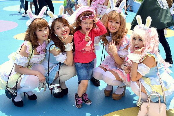 Things to do in Japan with Kids: People
