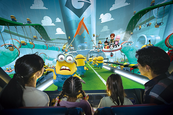 Minion Mayhem at Minion Park at Universal Studios Japan - Pic Courtesy USJ