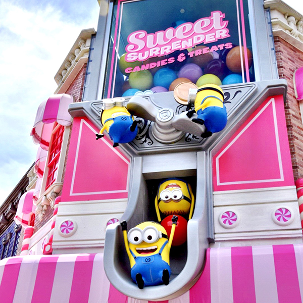 Sweet Surrender at Minion Park Universal Studios Japan