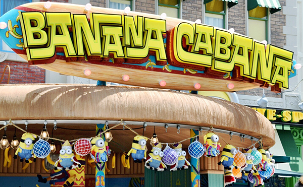 Banana Cabana at Minion Park at Universal Studios Japan