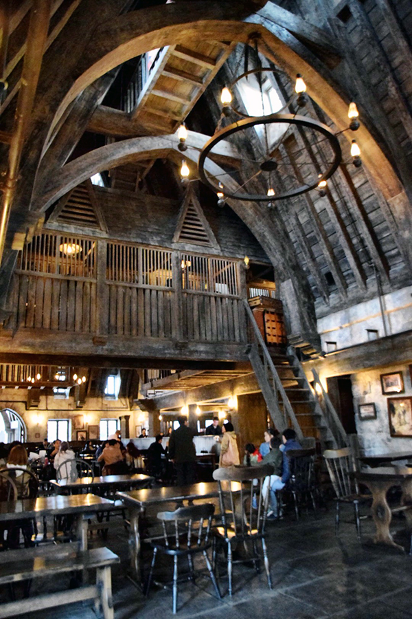 The Three Broomsticks at The Wizarding World of Harry Potter at Universal Studios Japan