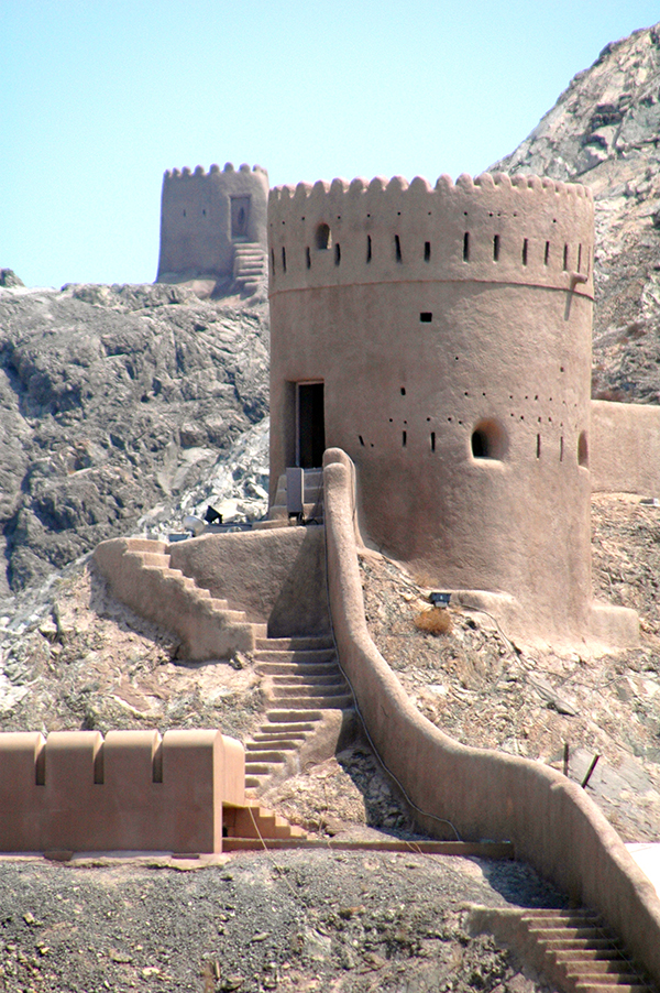 Oman with kids - May the forts be with you