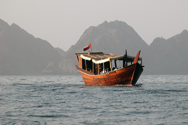 Muscat Dhow- Oman with kids