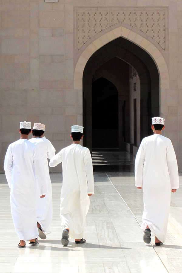 Oman with kids - Sultan Qaboos Mosque