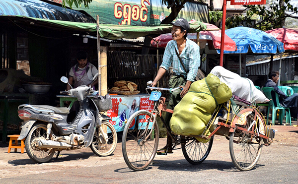 Off to Mingalar Market