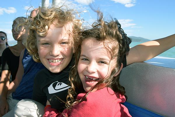 Ocean Rafting: Whitsunday Islands by Kids