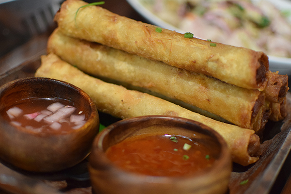 Fried Lumpia at Apu City of Dreams Manila