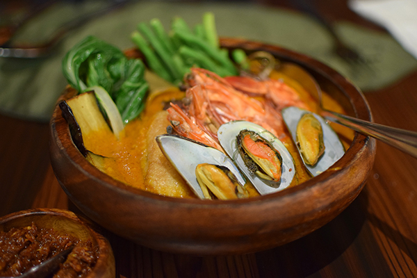 Seafood Kare Kare at Apu Manila
