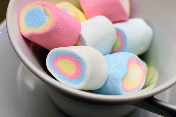 Unicorn Poop Marshmallows at Fairmont Makati
