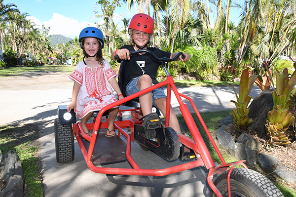 Family fun at Big 4 Adventure Whitsundays Airlie Beach