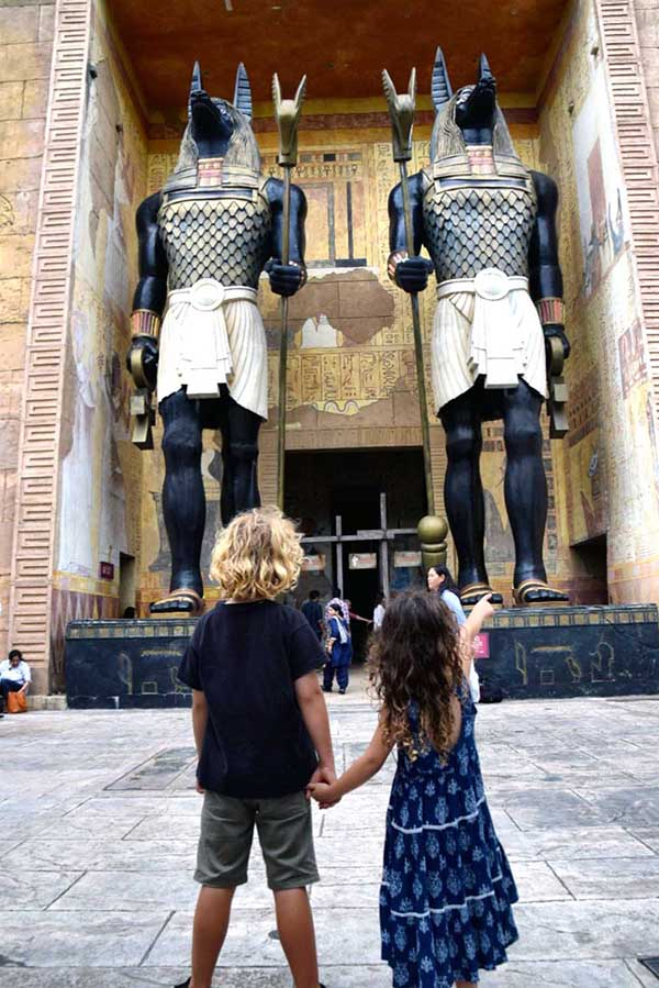 Head back to Ancient Egypt at Universal Studios Singapore with kids