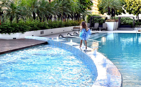 Fairmont Makati with kids