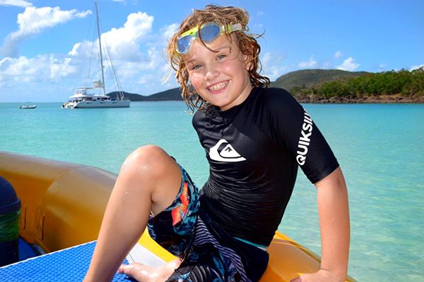 Whitehaven Beach : Whitsunday Islands by Kids. BoyEatsWorld