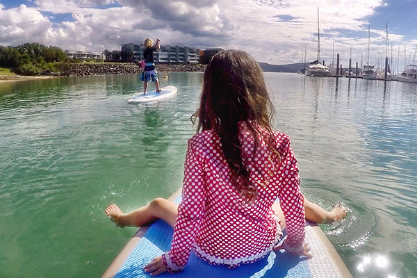 Paddle Boarding: Whitsunday Islands by Kids