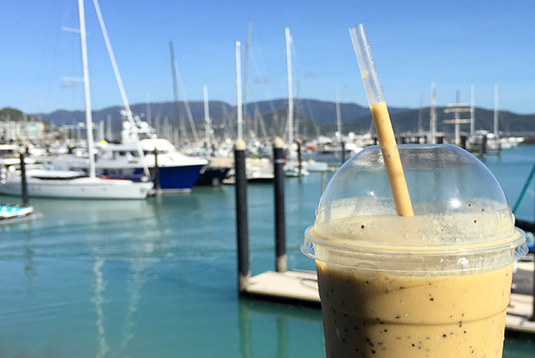 Airlie Beach food: Bohemian Raw Cafe Abell Marina