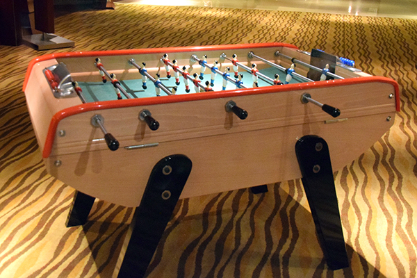 Foosball at Swissotel The Stamford with Kids