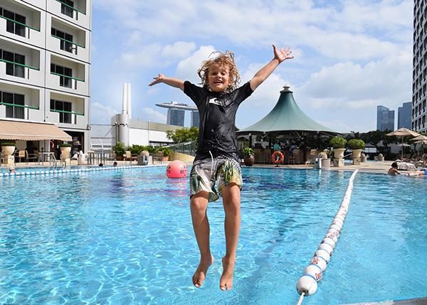 Swissotel The Stamford Pool