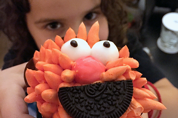 Sofitel Bali Nusa Dua with kids: super cupcakes to greet the kids