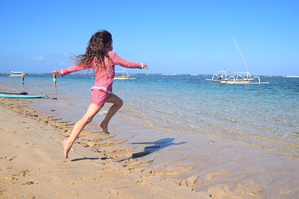 Bali by kids; Beach bliss at Novotel Bali Nusa Dua
