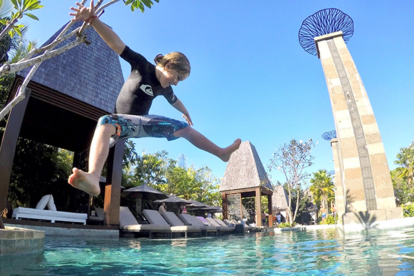 Time for fun at the Sofitel Bali Nusa Dua with kids