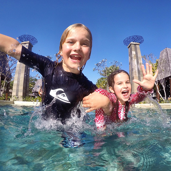 Time for fun at the Sofitel Bali with kids