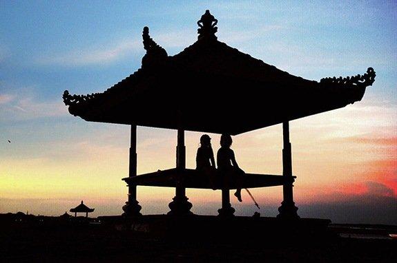 Sunset at Sofitel Nusa Dua