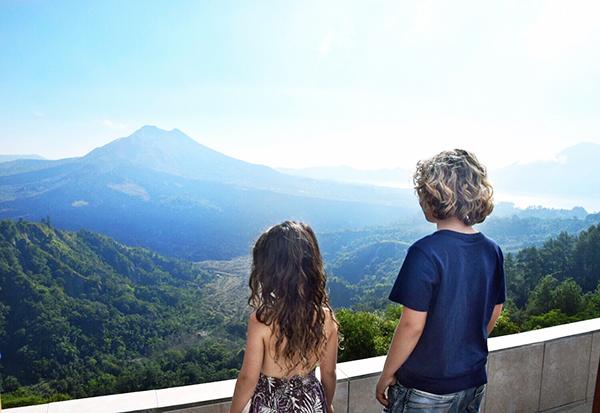 Bali by kids: Mt Batur Volcano