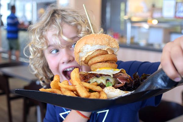 Worker's Burger at TurBARlence Mackay