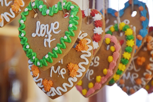 Gingerbread at the Hope Bakery at Sovereign HIll